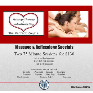 Valentine's Day Massage & Reflexology Specials - Benton Harbor MI